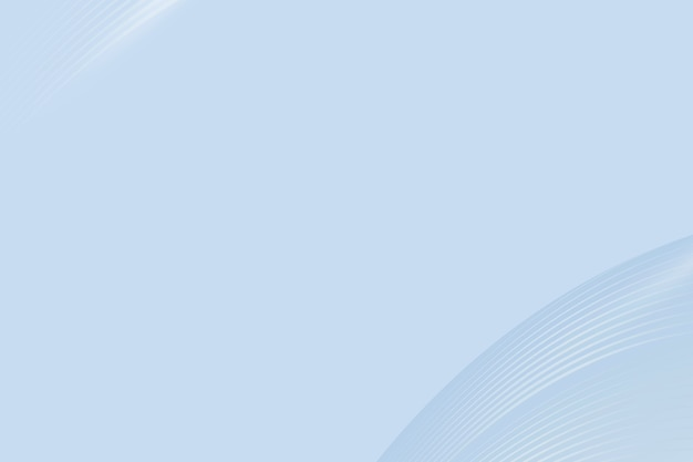 Blauwe kromme abstracte achtergrond met ontwerpruimte