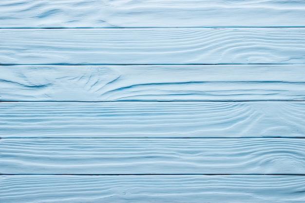 Blauwe leeftijd houten tafel