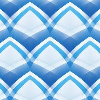 Blauwe lijnen abstracte flexibele achtergrond, gebogen strepen van verschillende kleuren. geometrische lay-out voor ontwerp