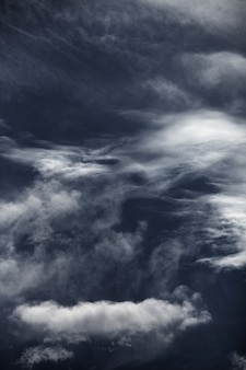 Blauwe lucht met cloud close-up