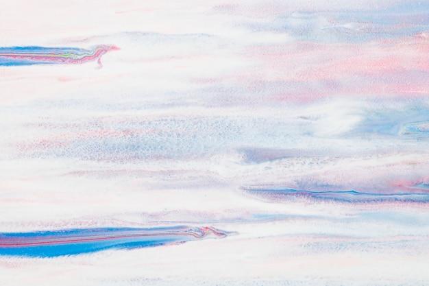 Blauwe marmeren swirl achtergrond handgemaakte esthetische vloeiende textuur experimentele kunst