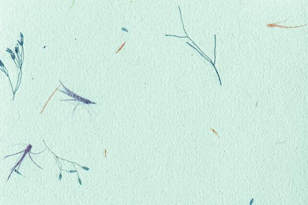 Blauwe moerbei papier getextureerde achtergrond
