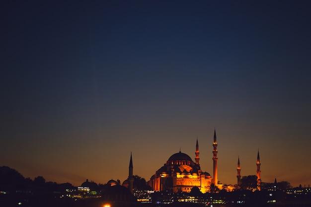 Blauwe moskee in istanboel