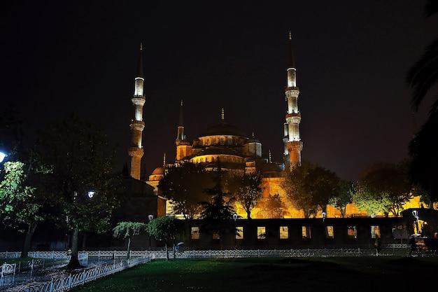 Blauwe moskee in istanbul van turkije