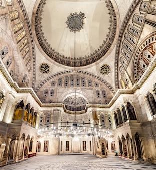 Blauwe moskee interieur
