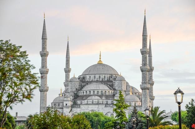 Blauwe moskee, istanbul, turkije.