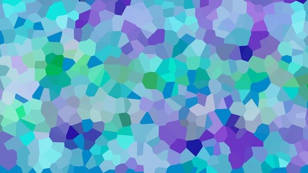 Blauwe mozaïek abstracte textuur achtergrond, patroon achtergrond van gradiënt behang