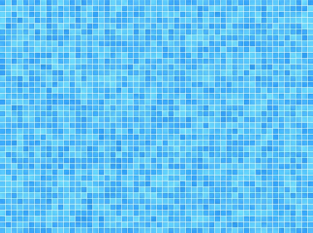 Blauwe mozaïekachtergrond