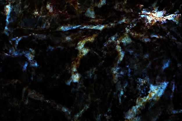 Blauwe parel mineraal en donker graniet marmer interieur textuur oppervlak achtergrond