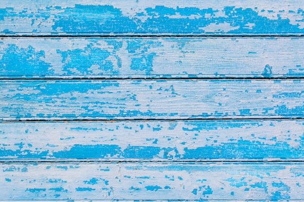 Blauwe pastel gekleurde houten achtergrond