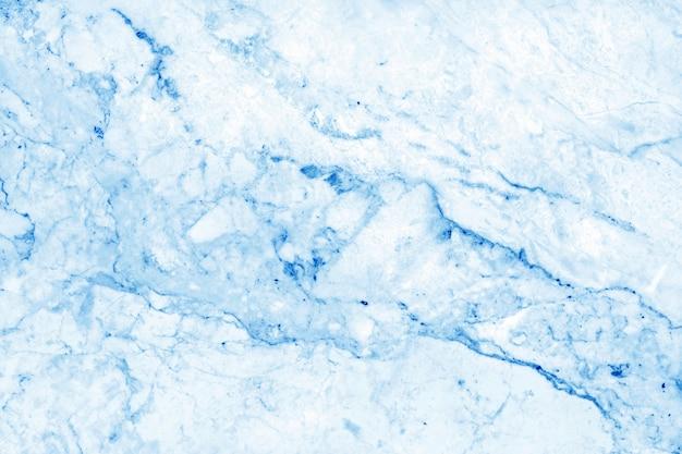 Blauwe pastel textuur met hoge resolutie, tegenbovenaanzicht van natuursteen steen