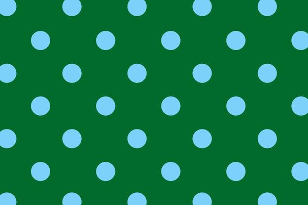 Blauwe polka dot met kleurrijke achtergrond