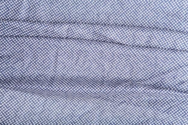 Blauwe polka dots stof textuur