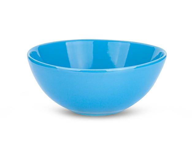 Blauwe schaal