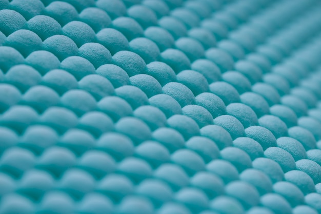 Blauwe schoonmaak deurmat of tapijt textuur