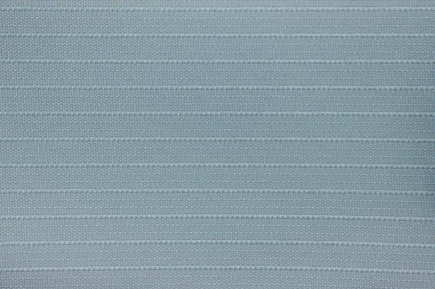 Blauwe stof blind gordijn textuur