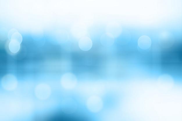 Blauwe vage bokeh samenvatting voor achtergrond