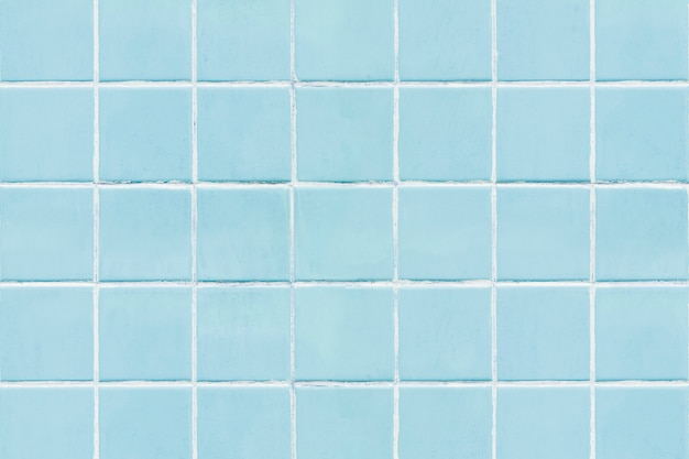 Blauwe vierkante betegelde textuurachtergrond