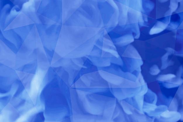Blauwe vloeiende achtergrond met patroon