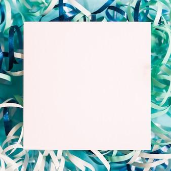 Blauwe wimpel