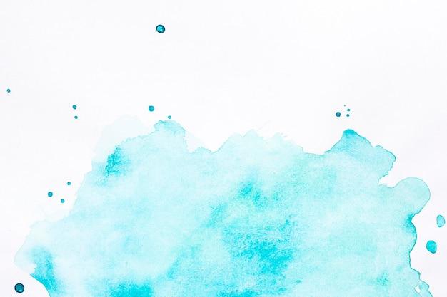 Blauwe wolk van spatten achtergrond