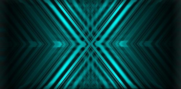 Blauwe x abstracte achtergrond