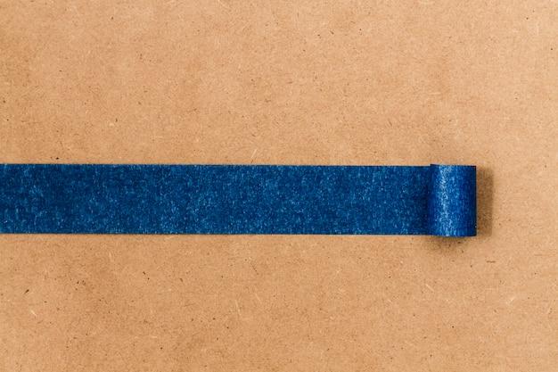 Blauwe zelfklevende textuurlijn voor behang