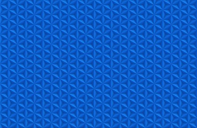 Blauwe zeshoeken achtergrond. abstract ontwerp.