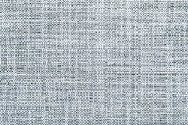 Blauwgrijze linnen textiel getextureerde achtergrond