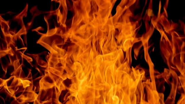 Blaze vuur vlam textuur achtergrond