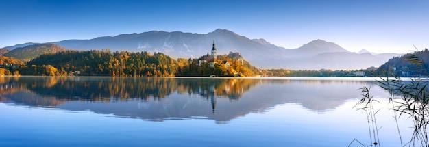 Bled in slovenië, europa