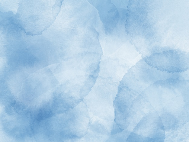 Bleke blauwe aquarel borstel splash achtergrond
