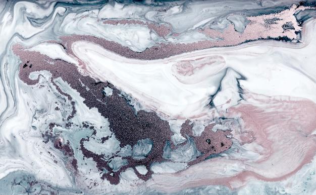 Bleke marmeren achtergrond. eenvoudige marmeren vloeibare textuur.