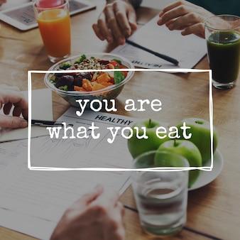 Blijf gezond lichaamsverzorging leven levensstijl voedzaam eten