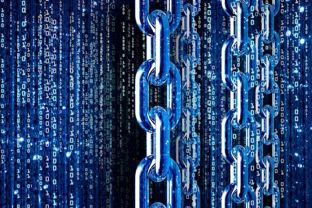 Blockchains-concept