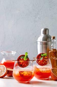 Bloed oranje cocktail