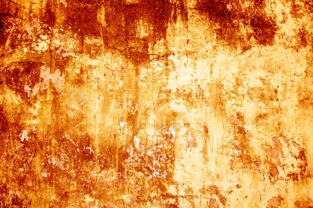 Bloed textuur achtergrond. textuur van betonnen wand met bloedige rode vlekken.