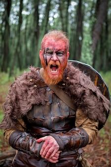 Bloedige echte viking