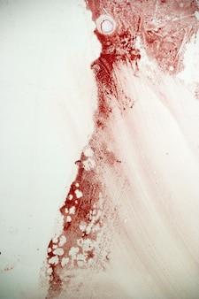 Bloedvlek op de muur