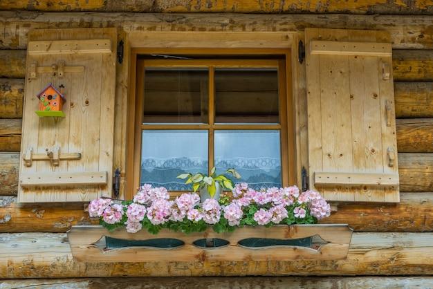 Bloeiende venster