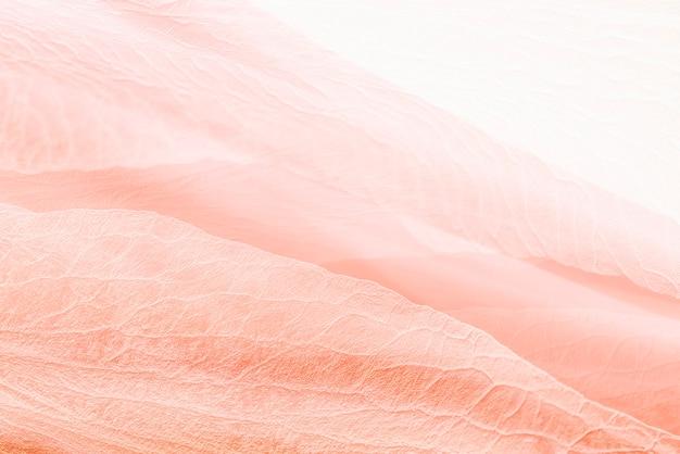 Bloemblaadje textuur achtergrond in koraal roze voor blog banner