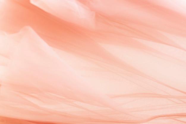 Bloemblaadje textuur achtergrond in perzik voor blog banner