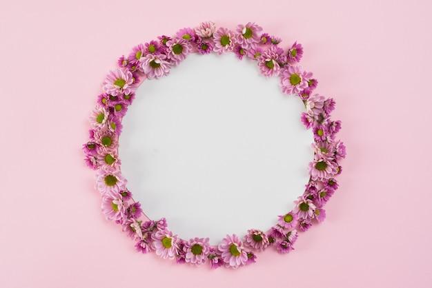 Bloemen achtergrond kopie ruimte