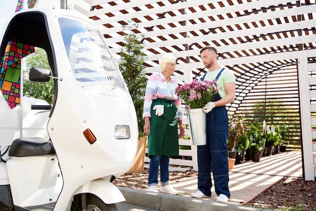 Bloemen levering