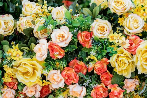 Bloemen voor achtergrond