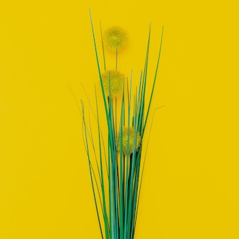 Bloemen woondecoratie. minimaal