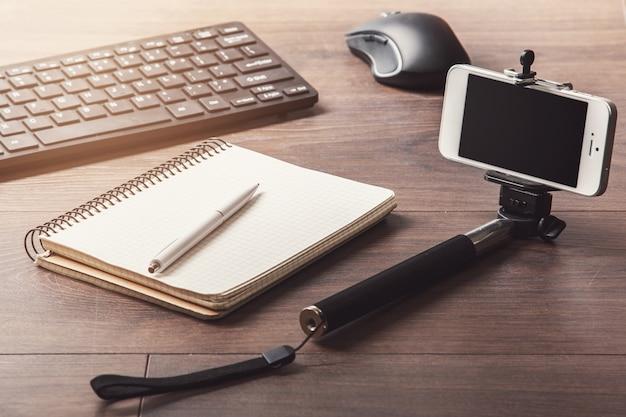 Blogger-werkplek