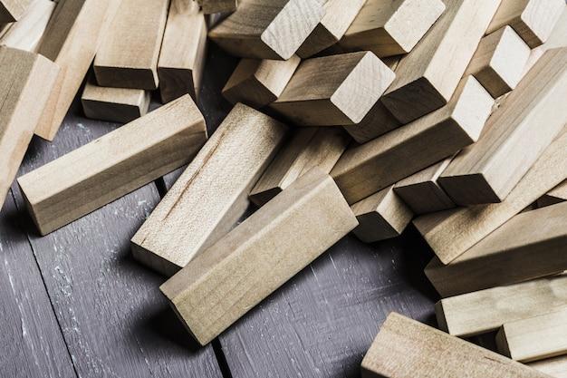 Blok hout spel
