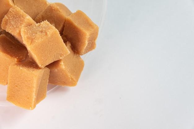 Blokjes dulce de leche