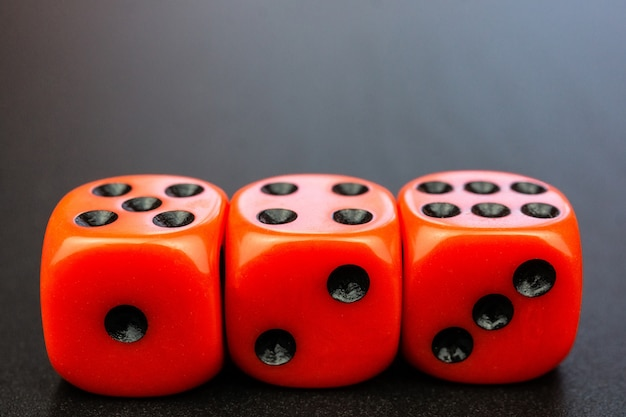 Blokjes in het bordspel